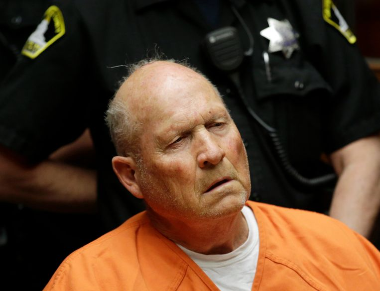 Joseph James DeAngelo, de verdachte 'Golden State Killer'.