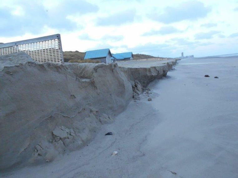 Het strand in Bredene