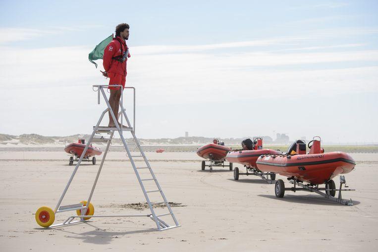 Dit weekend zijn er nog géén redders aan zee