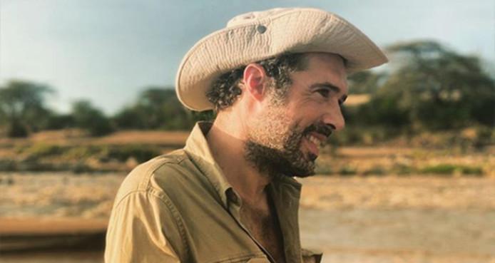"""Nicolas Bedos sur le tournage de """"OSS 117: Alerte rouge en Afrique noire"""""""