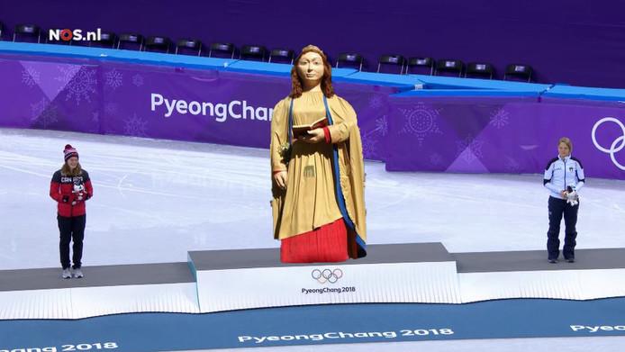 Ermelindis, dé vrouw uit Moergestel, won onlangs goud in Pyeongchang. Volgens de satirische website De Fontijn althans.