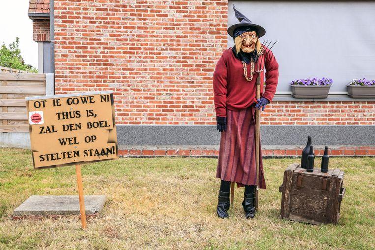 Beselare heksen in de straat