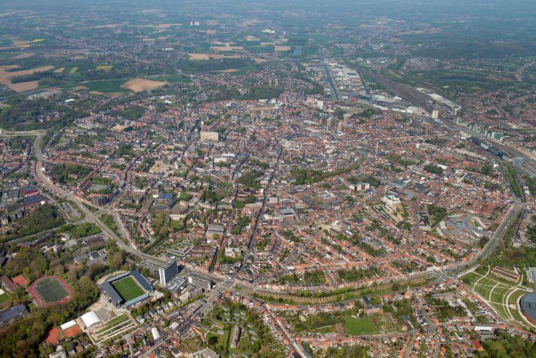 Illustratie ruimtelijk structuurplan Leuven