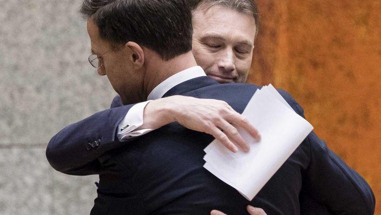Halbe Zijlstra maakte dinsdag in de Tweede Kamer bekend dat hij opstapt als minister van Buitenlandse Zaken Beeld ANP