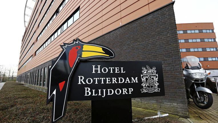 Leden van Hells Angels en de rivaliserende Mongols zochten elkaar donderdagavond op in een Rotterdams hotel Beeld anp