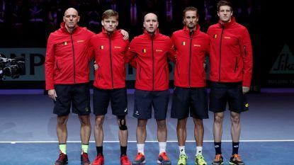 """Davis Cup-team levert derde keer op rij """"Tennisprestatie van het Jaar"""""""