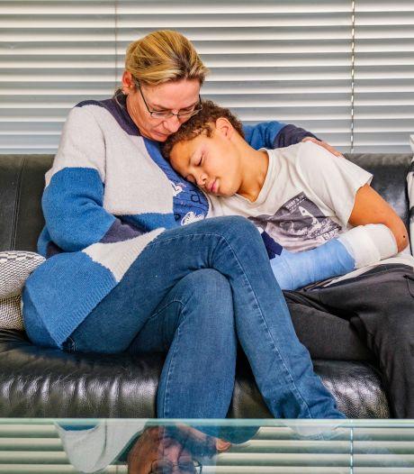 Tristan (11) stak gevonden vuurwerk af: 'Mama niet kijken, mijn hand ligt eraf'
