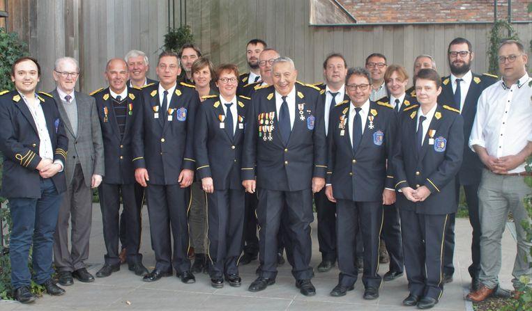 Koninklijke Harmonie De Verenigde Vrienden huldigde de verdienstelijke muzikanten tijdens de viering van patroonheilige Sint-Cecilia