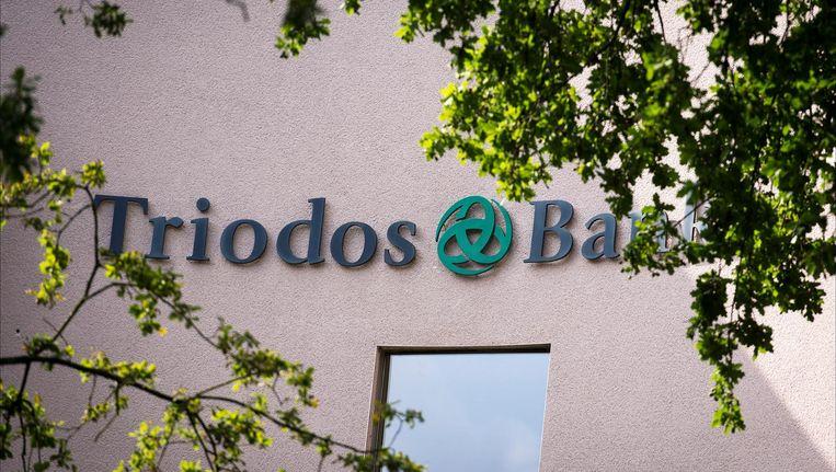 Het hoofdkantoor van de Triodos Bank. Beeld null