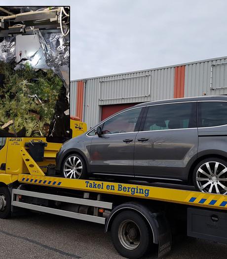 Auto in beslag genomen na vondst wietkwekerij Westervoort
