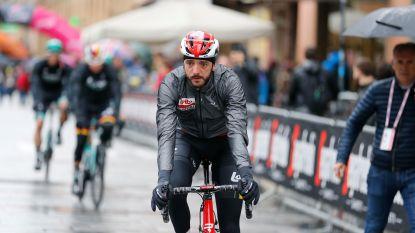 Eerste Belgische opgave: Jelle Vanendert verlaat Giro