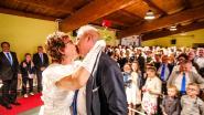 900 jaar Bovekerke gevierd met...hertrouwpartij