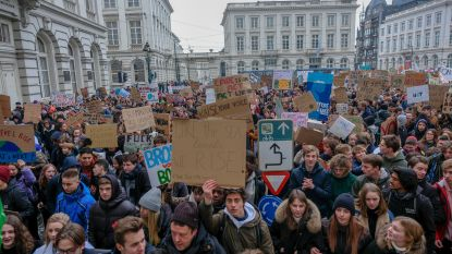 Students For Climate steunen stakingsposten