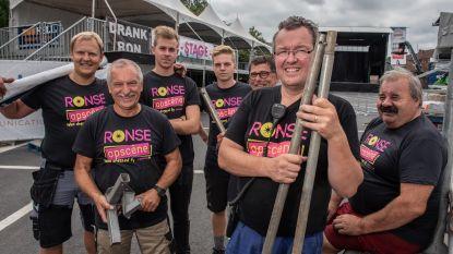Stad maakt zich klaar voor Ronse Opscène