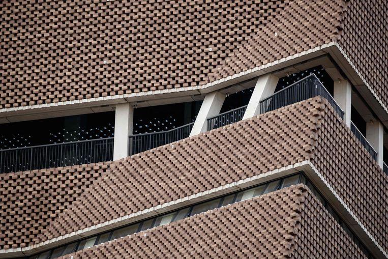 De tiende verdieping waar Jonty B. toesloeg.
