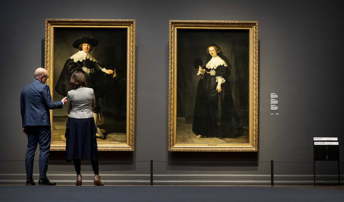 Marten en Oopjen, de twee Rembrandt-portretten voor 160 miljoen euro zijn gekocht door Nederland en Frankrijk