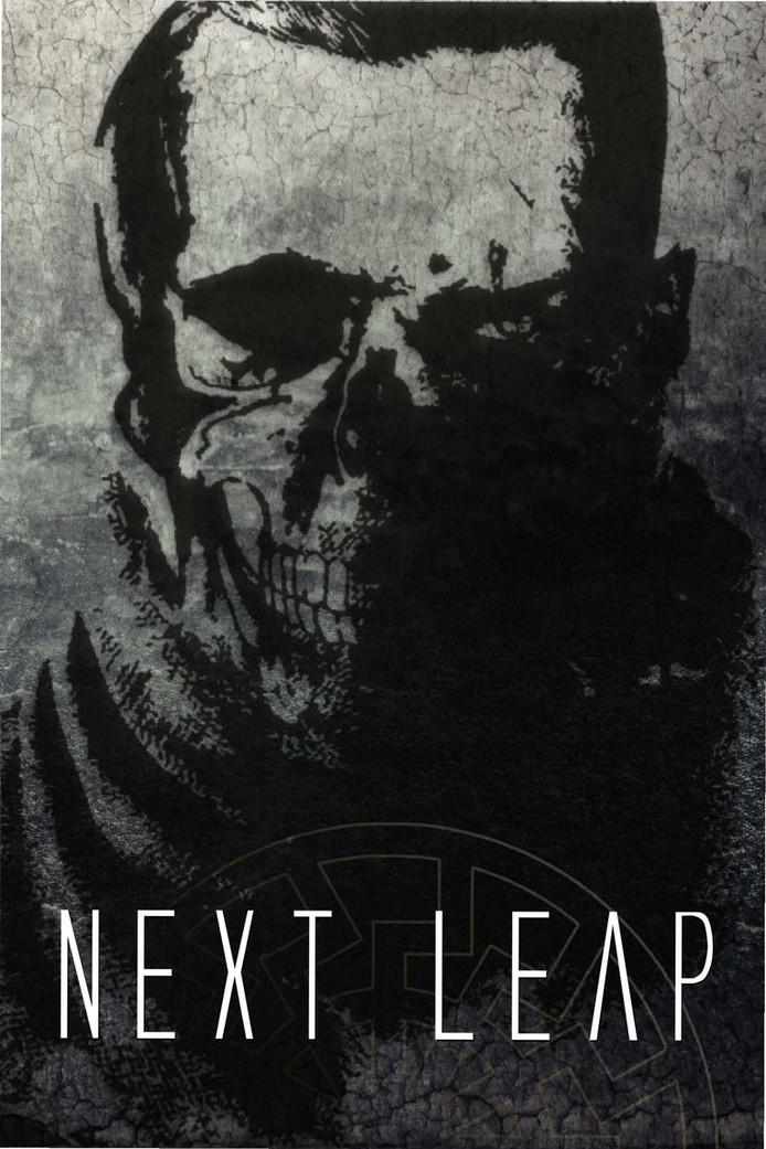 """La couverture de """"Next leap"""", le manifeste fasciste d'Alexander Slavros, fondateur d'Iron March"""