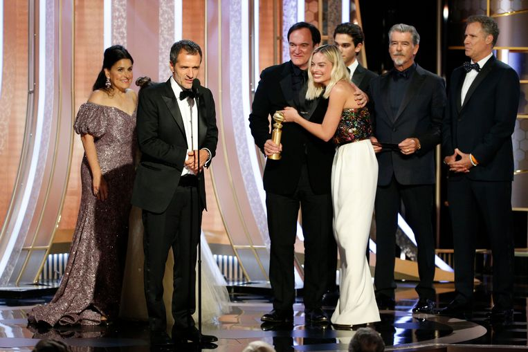 De award voor Once Upon A Time.. In Hollywood. Beeld AP