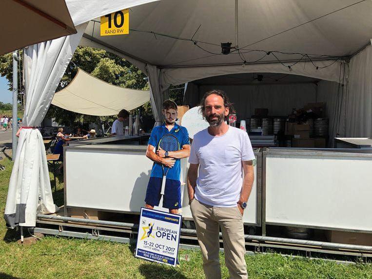 Voorzitter van de tennis van Wezemaal: Patrick Vervoort