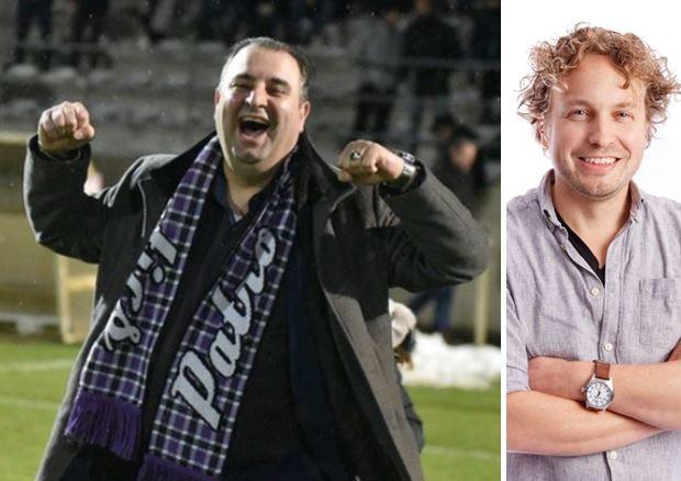 Multimiljonair Salar Azimi, hier juichend voor Patro Eisden, wordt tamelijk snel verliefd, constateert columnist Niels Herijgens