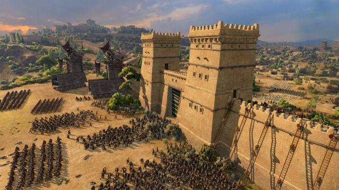 De belegering van Troje is voor 't laatste.
