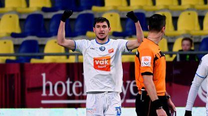 VIDEO. Yaremchuk schenkt AA Gent 0-2-zege bij STVV én ticket voor play-off 1