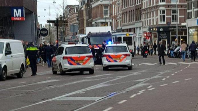 Veel politie op de been na steekpartij.