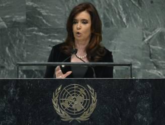 Argentijnse presidente haalt uit naar IMF