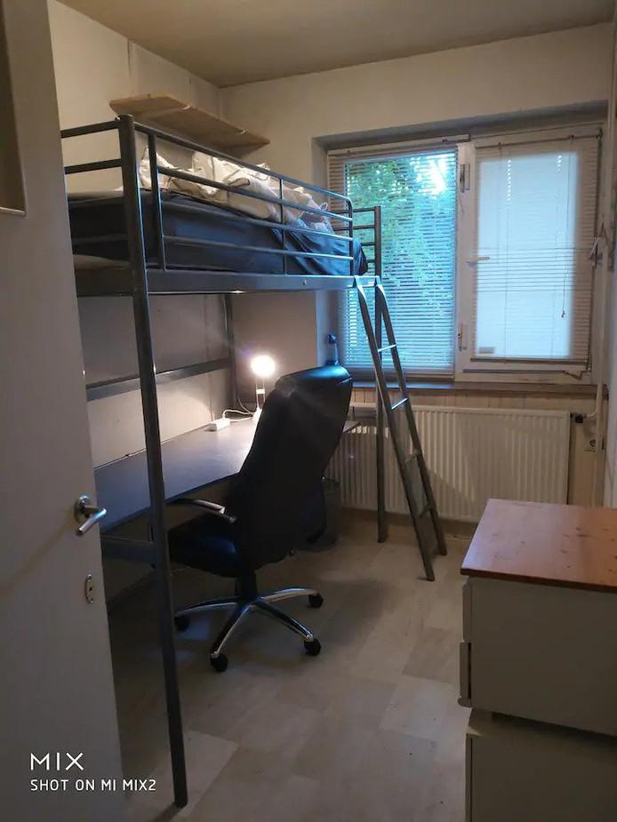 Deze kamer in Eindhoven wordt op Airbnb voor 11 euro per nacht aangeboden. Inclusief ontbijt.