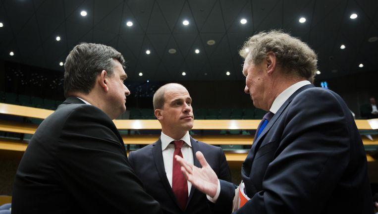 De drie linkse leiders. Beeld Freek van den Bergh