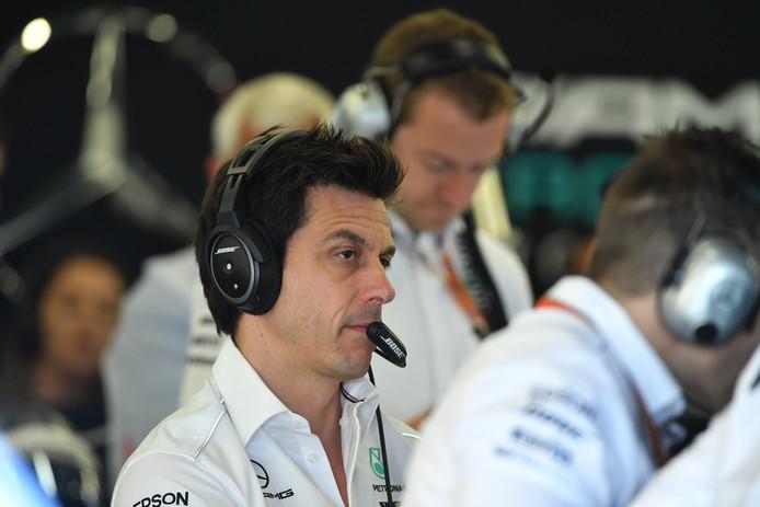 Teambaas Toto Wolff van Mercedes.