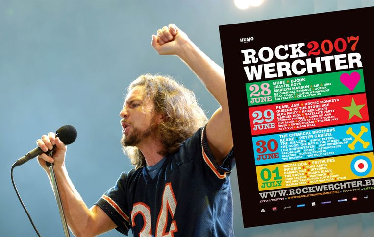 Pearl Jam in 2007.