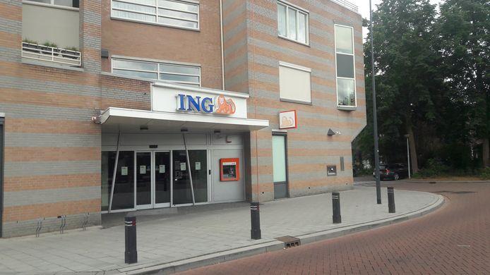 Het ING-kantoor aan de Dorpsstraat in Rosmalen gaat definitief dicht.