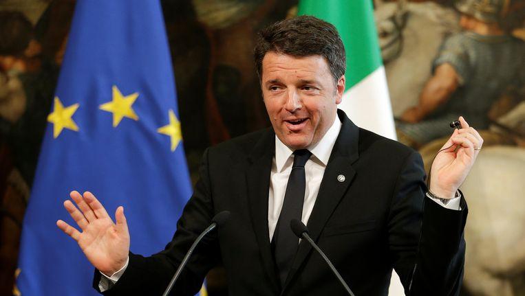 Italiaans premier Matteo Renzi.