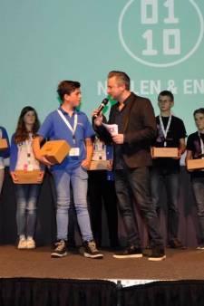 Jonge Goudse robotbouwer gehuldigd in Corpus