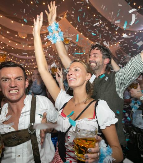 Frisse Beierse wind over de Parade tijdens Oktoberfest