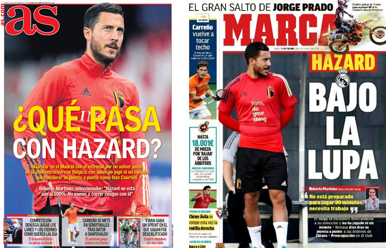 Pression maximale pour Eden Hazard à Madrid.