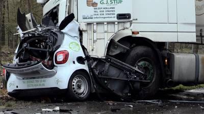 'Hij heeft geremd alsof zijn leven ervan afhing', trucker (20) uit Hattem kon dodelijk ongeluk niet