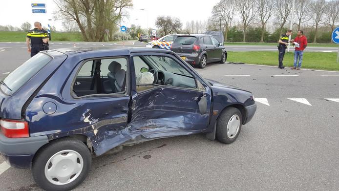 Een 97-jarige vrouw is gewond geraakt bij een ongeval op de N345 bij Brummen
