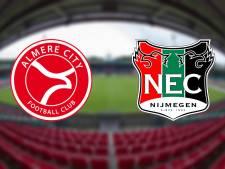 NEC vecht in De Goffert voor aansluiting bij nacompetitieplek