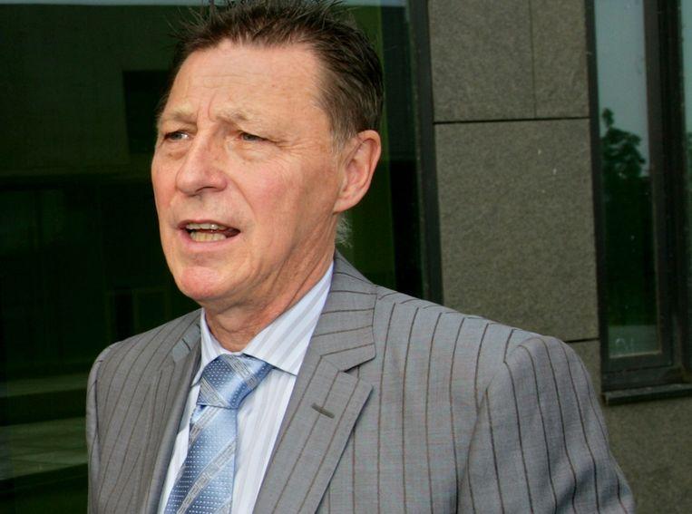 Advocaat Jef Vermassen begeleidt de familie Van Uytsel.