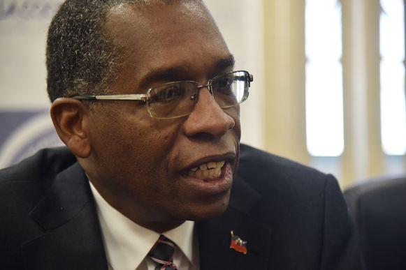 Antonio Rodrigue, minister van Buitenlandse Zaken van Haïti.