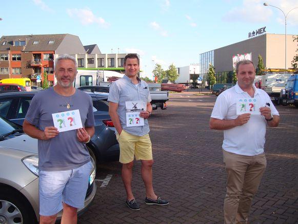 Open Vld-raadsleden Dirk De Mey, Geert D'hooghe en Geert Roosenboom formuleren een alternatief voorstel voor de ontwikkeling van de Zandberg en de site van de Klodde.