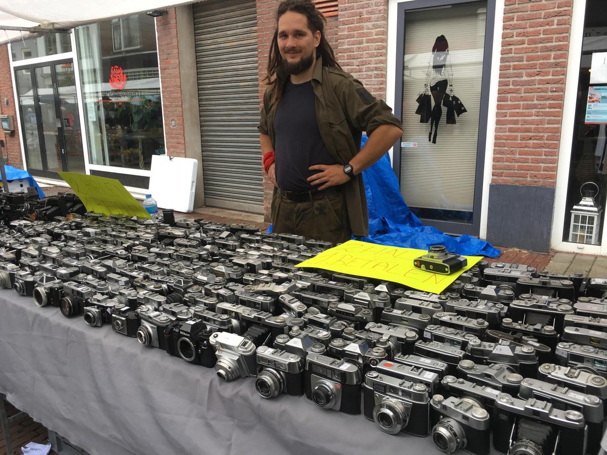 De fotograficabeurs in Doesburg.