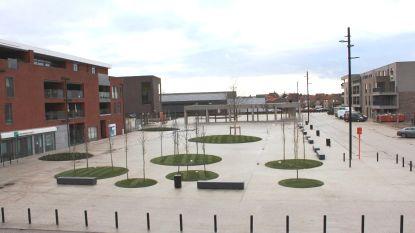 Centrumplein Ter Motten klaar voor gebruik
