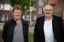 Hans Sprangers (links) en Ger Hesseling.
