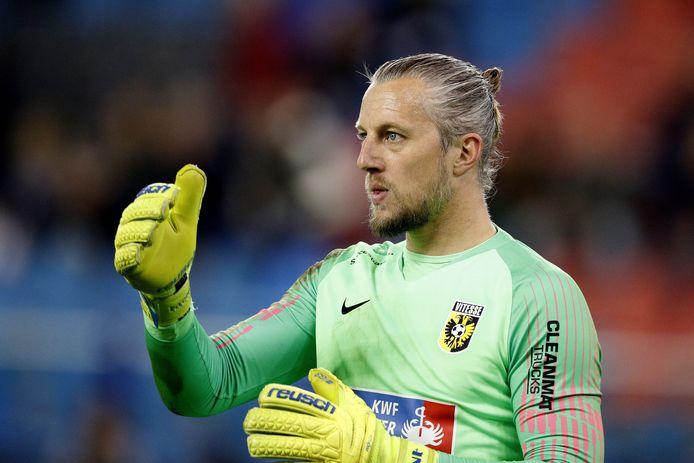 Remko Pasveer is fit genoeg om te starten bij Vitesse.
