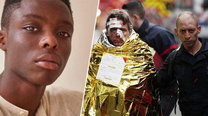 """Nederlands model (18) hielp hotelgasten na zware gasexplosie in Parijs: """"Ik dacht eerst aan een aanslag"""""""