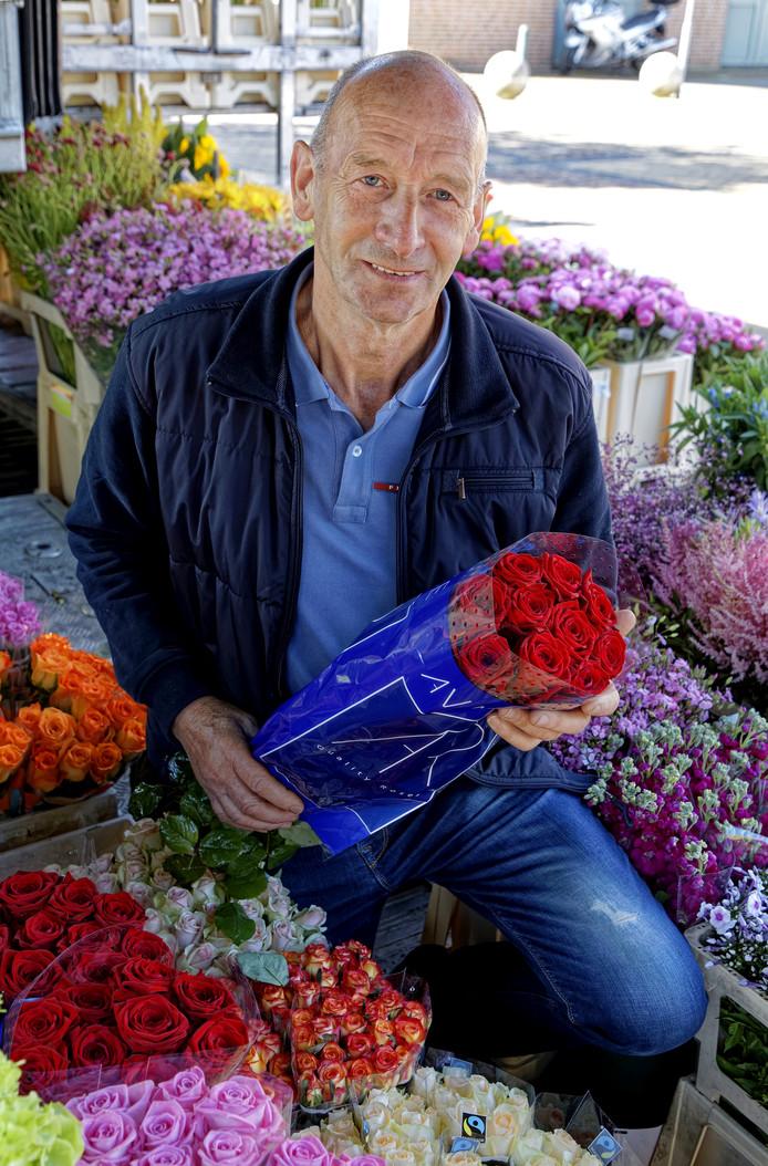 Bloemenman André Koene uit Den Dungen.