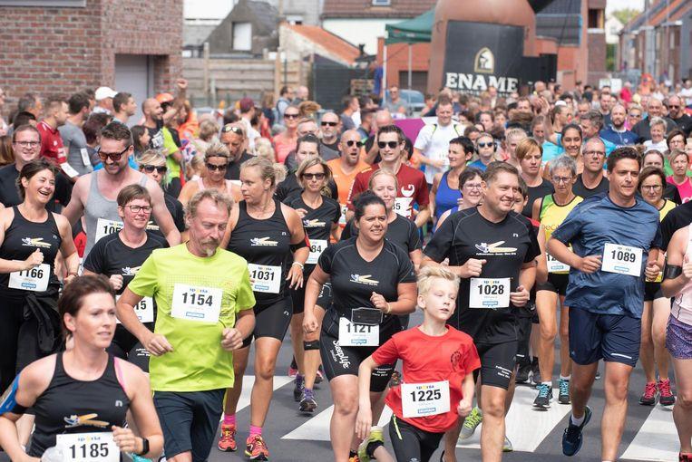 De Pelikaan-Run brengt elk jaar een paar honderd lopers op de been.